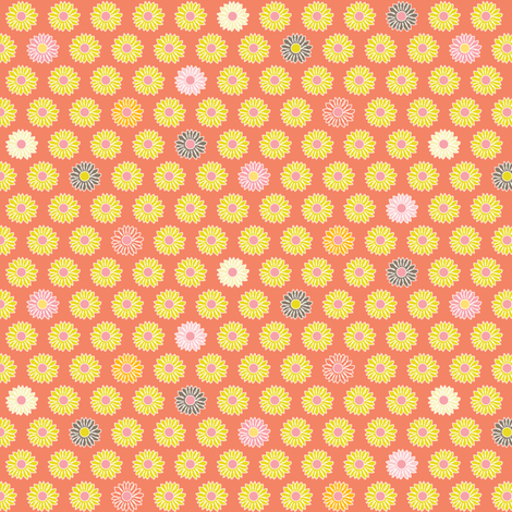 Little Blooms fabric by kayajoy on Spoonflower - custom fabric