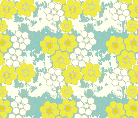 Urban Floral fabric by fable_design on Spoonflower - custom fabric