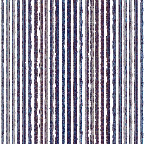 Twilight Stripes - Sea fabric by kristopherk on Spoonflower - custom fabric