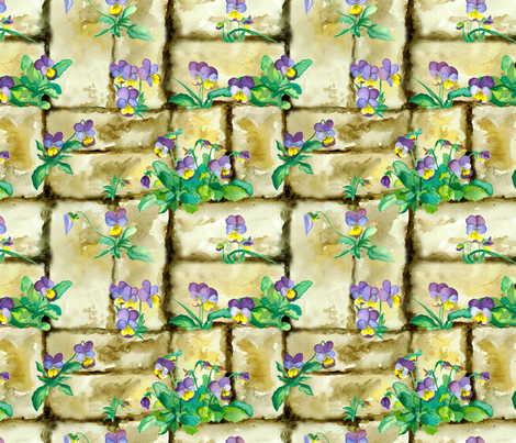 Jumpy Bump Ups fabric by beebumble on Spoonflower - custom fabric