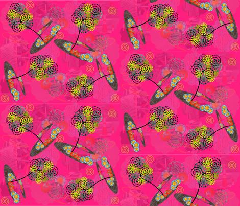 Imagine Beauty All Around fabric by gg33 on Spoonflower - custom fabric