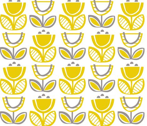 Urban Buttercup fabric by kate_legge on Spoonflower - custom fabric