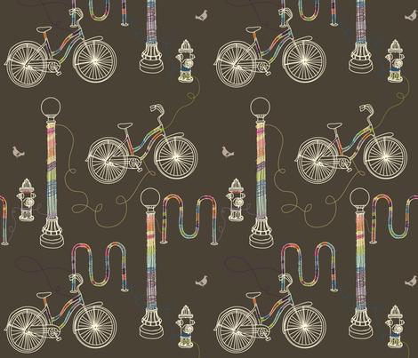 Yarnbombing fabric by lellobird on Spoonflower - custom fabric