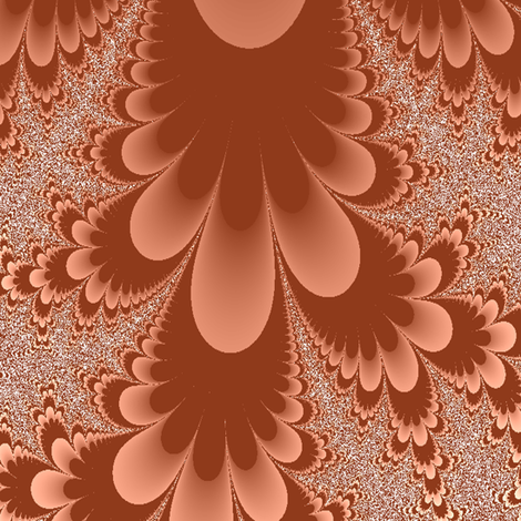 petals brown fabric by krs_expressions on Spoonflower - custom fabric