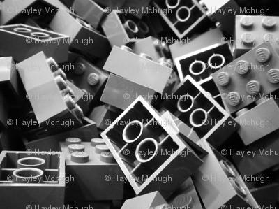 More grey blocks
