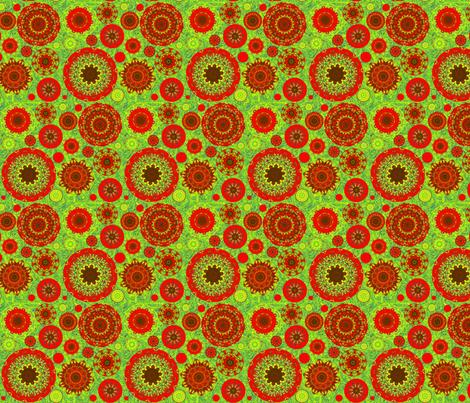 wheels are turning fabric by elarnia on Spoonflower - custom fabric