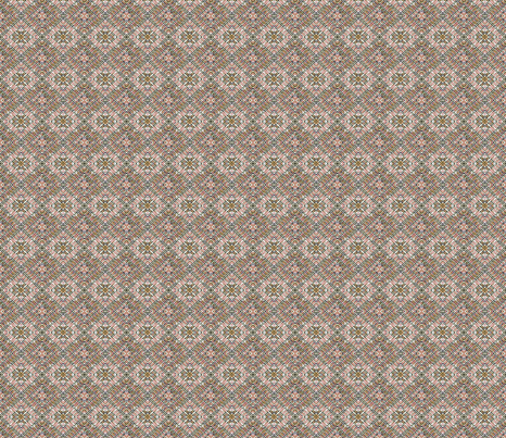 Tile-Weave,light grey brown,small. fabric by koalalady on Spoonflower - custom fabric