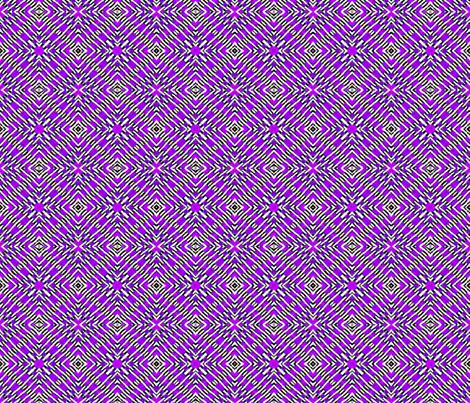 Tile weaving in purple. fabric by koalalady on Spoonflower - custom fabric
