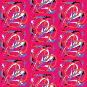 Large Floral Movement in Pink