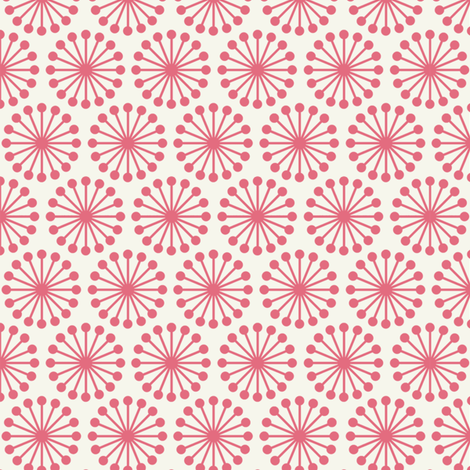 Cheer Wheel / Pink fabric by hoodiecrescent&stars on Spoonflower - custom fabric