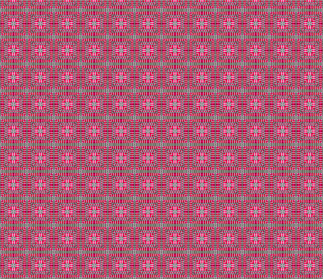 Tile-weave_bright_pink_small fabric by koalalady on Spoonflower - custom fabric
