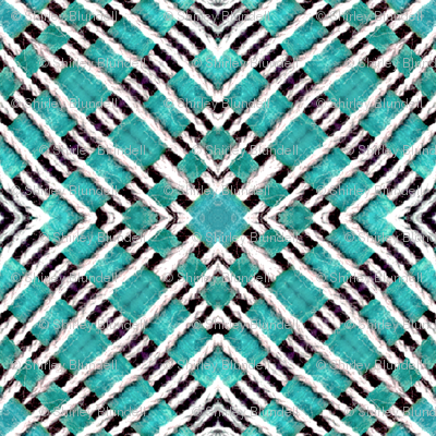 Tile weaving,light turquoise