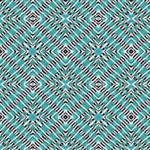 Tile weaving,light turquoise
