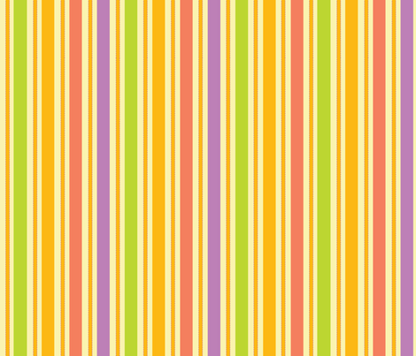 Candy Stripe fabric by sarah_nussbaumer on Spoonflower - custom fabric