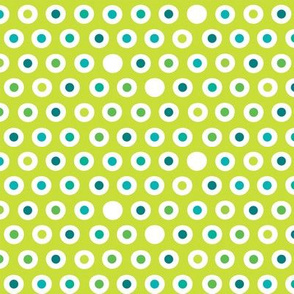 Spoon Polka Green
