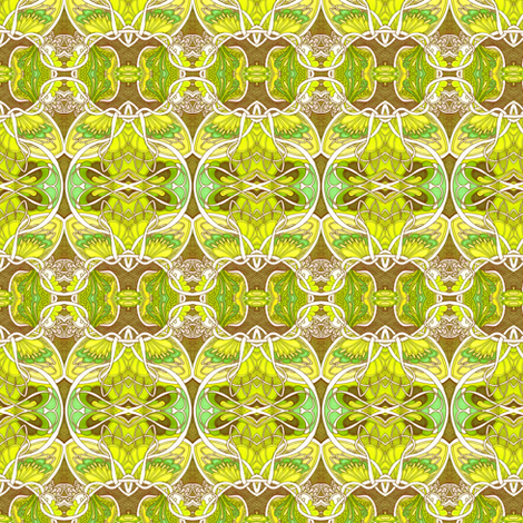 Atomic Artichoke fabric by edsel2084 on Spoonflower - custom fabric