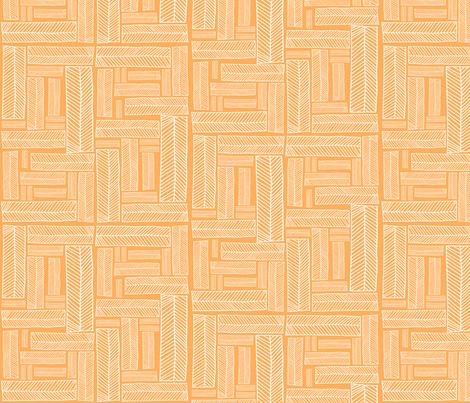 boxes.creamsicle fabric by rachaelanndesign on Spoonflower - custom fabric