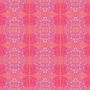 Coral Drawing Candy Pink