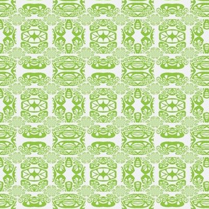 Coral Drawing Apple Green