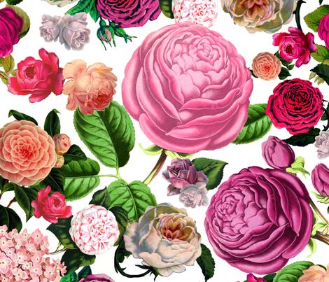 Modern Rosie fabric by gwendolynrose on Spoonflower - custom fabric