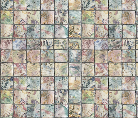 squares-ed fabric by scharliem on Spoonflower - custom fabric