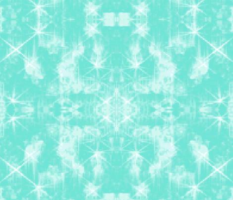 Turquoise Heaven fabric by bluevelvet on Spoonflower - custom fabric