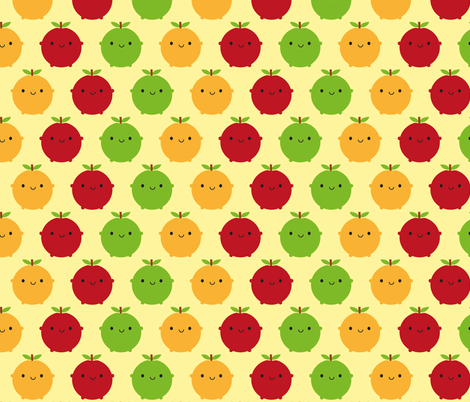 Cutie Fruity fabric by marcelinesmith on Spoonflower - custom fabric