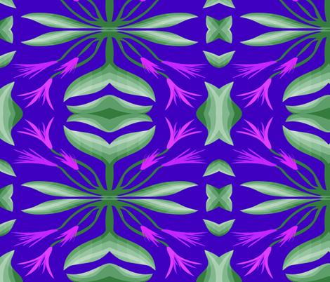 FLOWERING VINES fabric by bluevelvet on Spoonflower - custom fabric