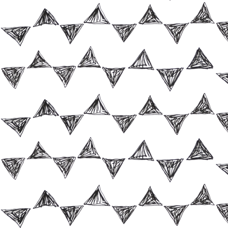 triangles fabric by studiojelien on Spoonflower - custom fabric