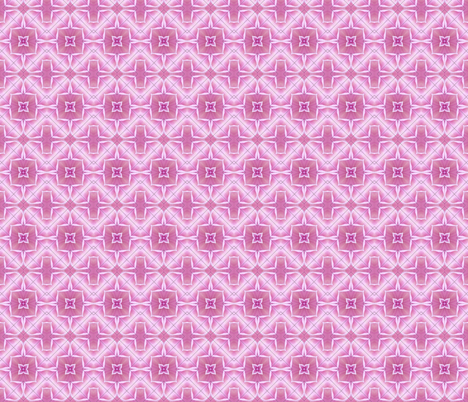 Pink Kaleidoscope-small fabric by koalalady on Spoonflower - custom fabric