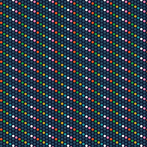 dots-donker fabric by irrimiri on Spoonflower - custom fabric
