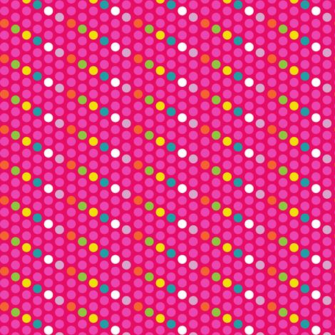 dots-rood fabric by irrimiri on Spoonflower - custom fabric