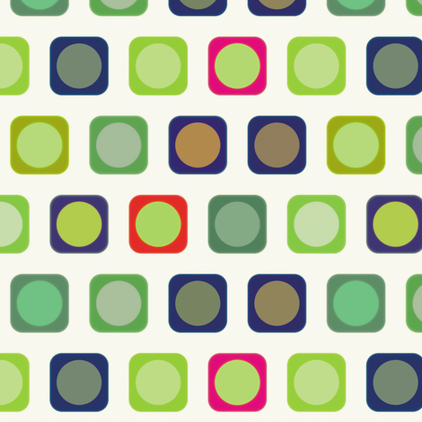 Circle Squares 3, S fabric by animotaxis on Spoonflower - custom fabric