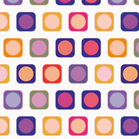 Circle Squares 4, S fabric by animotaxis on Spoonflower - custom fabric