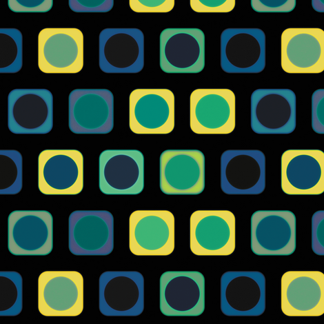 Circle Squares 6, S fabric by animotaxis on Spoonflower - custom fabric