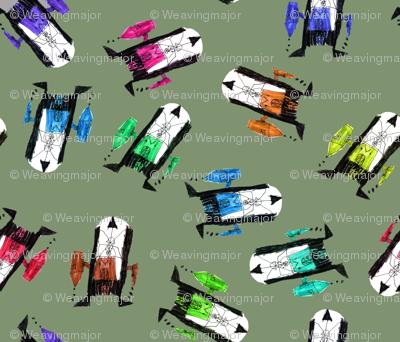 bubbie's robots on camo
