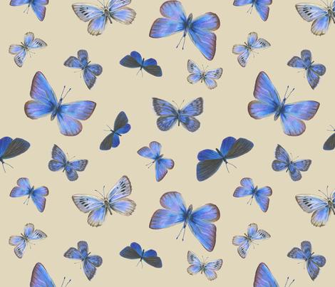 blues on the air fabric by weavingmajor on Spoonflower - custom fabric