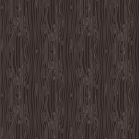 Wonky Woodgrain - brown - teeny tiny fabric by jesseesuem on Spoonflower - custom fabric