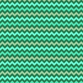 Monster Chevron - Greens - Small