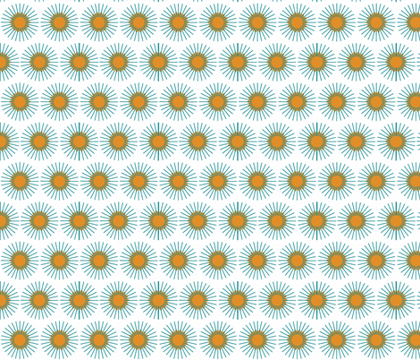Flare_starburst fabric by designedtoat on Spoonflower - custom fabric