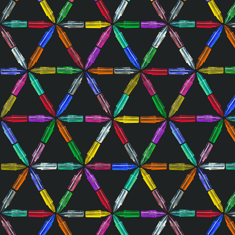 bright peg lattice fabric by weavingmajor on Spoonflower - custom fabric
