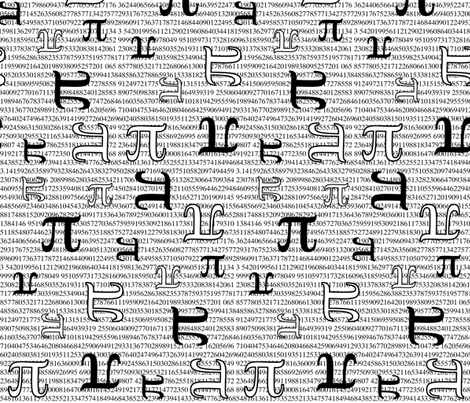 Pi are Square fabric by robyriker on Spoonflower - custom fabric