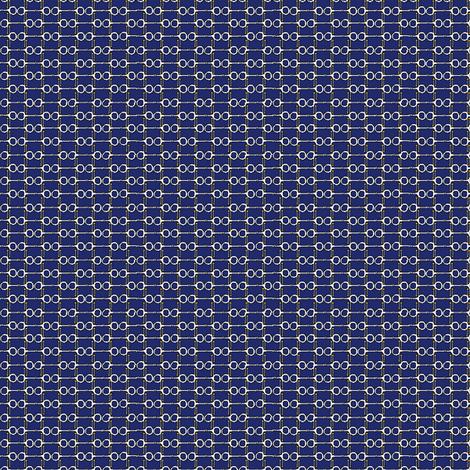 Bitty Bits - navy fabric by ragan on Spoonflower - custom fabric