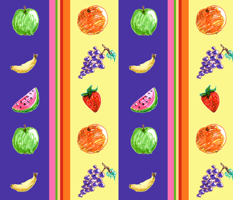 fruityfabric2 fabric by simplasticity on Spoonflower - custom fabric