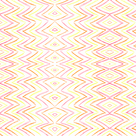 Scribbles fabric by miabella_designs on Spoonflower - custom fabric
