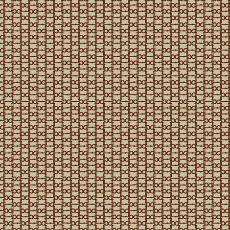 bittybitsseamlesskhakired fabric by ragan on Spoonflower - custom fabric