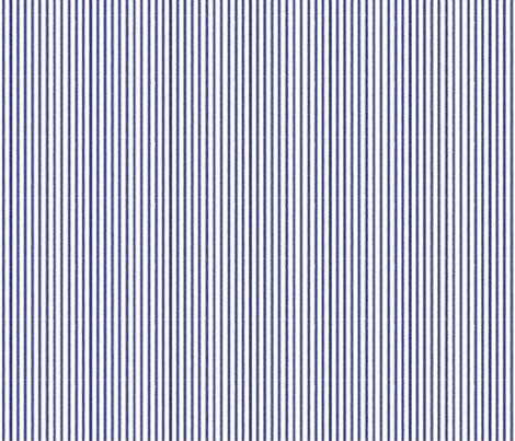 ticking-stripenavywhite fabric by ragan on Spoonflower - custom fabric
