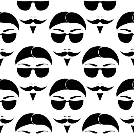 Undercover fabric by vo_aka_virginiao on Spoonflower - custom fabric