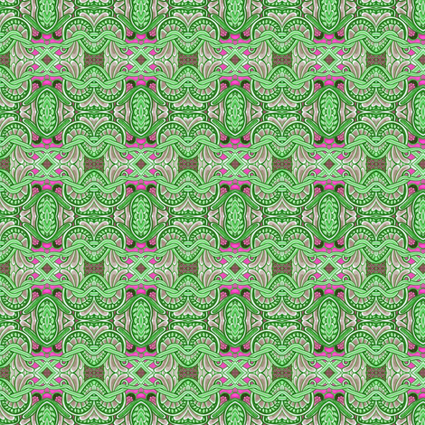 Color Me Green fabric by edsel2084 on Spoonflower - custom fabric