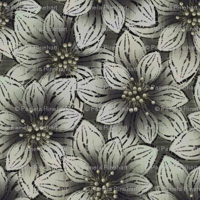 BIGFLOWERS - Charcoal